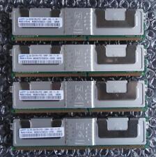 8GB Kit Samsung M395T5750EZ4-CE65 PC2-5300F 2Rx4 DDR2 Fbdimm ECC Mémoire de
