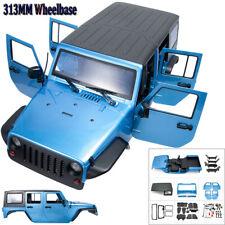313mm 1//10 Für RC Axial Jeep Wrangler Rubicon PVC Schale Karosserie