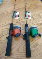 "2 Master Mity Might 24"" UltraLight Perfect Kayak Fishing combo DN180/DP rod reel"