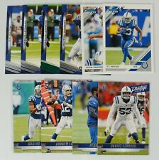 2019 Panini Chronicles Indianapolis Colts Football Team Lot (10) Hilton Luck