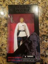 "Star Wars Black Series 6"" Inch Rogue One Director Krennic Loose Figure COMPLETE"