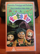TOTS TV - PEACOCKS, PAINTINGS AND PACKAGES - Vol 05 & 06 - VHS