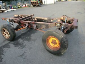 Land Rover 80 Rolling chassis Trailing chassis Heavy duty