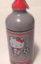 Sanrio Hello Kitty Aluminum Biker Water Bottle w Clip Soccer 17oz