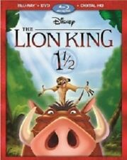 The Lion King 1 1/2 [New Blu-ray] With DVD, 2 Pack, Digitally Mastered In Hd