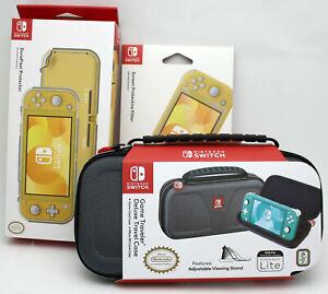 Nintendo Switch Lite Travel Case,Screen Protector,DuraFlexi Flexible by Hori