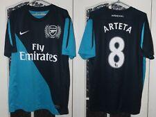 Arsenal London 2011 2012 Arteta Nike Away Shirt Jersey Trikot Size L