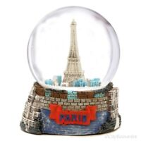 Eiffel Tower Paris Snow Globe - France Souvenir Travel Gift