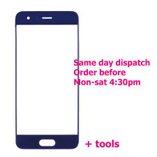Huawei Honor 9 Bleu Avant Outer Glass Touch Screen Display de remplacement HONNEUR 9