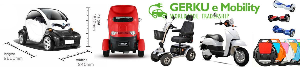E-Autos von GERKU e Mobility