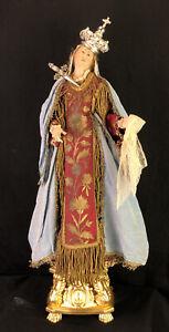 Madonna Addolorata Dolosa Triste Neapolitan Santon 62cm alt. tall Mary