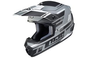 HJC CS-MX2 Motocross Helmet Trax Gray DIRT BIKE ATV CSMX CS-MX II MC5SF