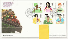 GB FDC 2005 Changing Tastes in Britain