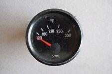 Used Vdo Fahrenheit Temperature Gauge 310654121 1175