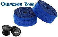 GIANT nastro manubrio bici corsa handlebar tape road CONTACT SLR blu blue lite