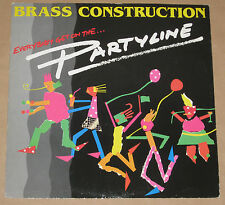 """BRASS CONSTRUCTION 12"""" PARTYLINE 1984 VERY GOOD+ UK PRESSING 12CL335"""