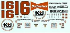 Plastic Performance Products #16 Budweiser Glenn Jarrett 1978 decal