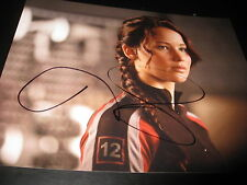 JENNIFER LAWRENCE SIGNED AUTOGRAPH 8x10 HUNGER GAMES CATCHING FIRE PROMO PROOF C