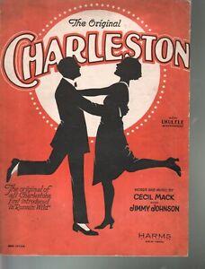 Original Charleston 1923 Running Wild Sheet Music
