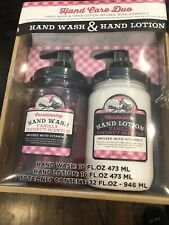 Mason Jar Collection Hand Care Duo Hand Wash & Hand Lotion Vanilla/Coconut New
