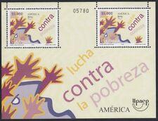 Upaep Colombia 1343 2005 Lucha contra la pobreza MNH
