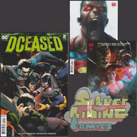 DCEASED #2 Set of Three 1ST PRINT COVER A + MATTINA + HOMAGE HORROR VARIANT