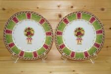 Royal Albert OLD COUNTRY ROSES Spring Accents (2) Salad Plates | Japan/USA 2001
