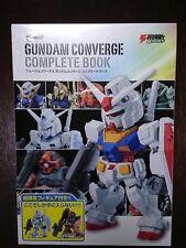 FW GUNDAM CONVERGE COMPLETE BOOK RX-78-2-3 G3 GUNDAM  CHAR'S RICK DOM NEW BANDAI