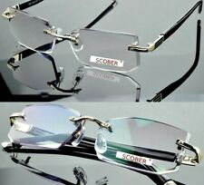 Rimless Reading Eyeglasses For Men And Women Ultralight Eyes Wear Decoration New