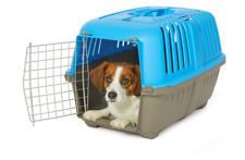Pet Dog Puppy Cat Carriers Basket Bag Cage Portable Travel Kennel Box Vet W/Door
