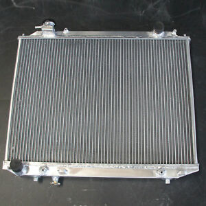 Aluminum Radiator 3R Fits Mazda Bravo & BT-50 Ford Courier & Ranger 96-11 AT MT