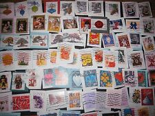 Forever and Self Adhesive US Stamps, Used, 50+, On Paper, Plus Bonus