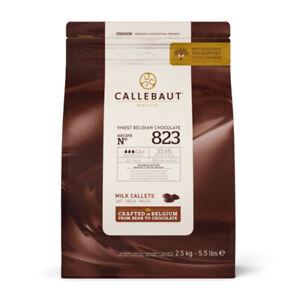Callebaut Milk Chocolate 33.6% Easimelt Finest Belgian Chocolate Callets 2.5Kg