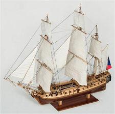 "Genuine, elegant wooden model ship kit by Constructo: the ""La Flore"""