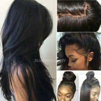 Top Natural 360 Lace Frontal Wig 100% Indian Human Hair Silk Base Full Lace Wigs