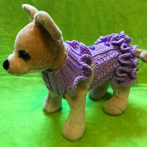 Pet Clothes Apparel Knit Sleeveless Dress /Sweater/Vest for Dog