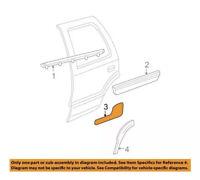 GM OEM Exterior-Cab-Roof Molding Left 23369033