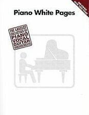 Hal Leonard 073999529937 Piano White Pages - Piano/Vocal/Guitar Songbook