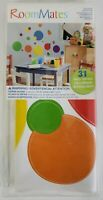 RoomMates Circles Polka Dots Wall Decal Stickers 31 Decals Colorful Room Decor