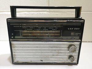 VEF 202 Transistor Radio USSR Soviet Vintage #2142