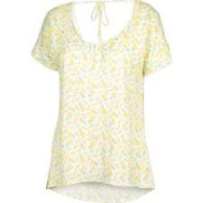 Fat Face Linen Pineapple Tee White Size UK 8 Dh089 NN 07