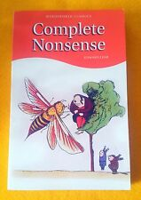 Complete Nonsense Edward Lear FREE AUS POST very good used cond paperback 1994