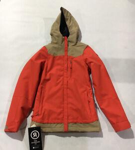 Ride Womens Broadview Snowboard Jacket Melon Size M