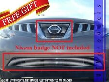 GTG Polished 2PC Overlay Combo Billet Grille Kit fits 2009 - 2010 Nissan Murano