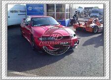CARBON FIBER OE FRONT BUMPER AUTO-SELECT CANARD 4PCS FOR NISSAN SKYLINE R33 GTR
