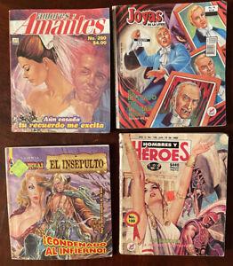 Assorted 4  Mexican Comics ,Joyas de la literatura & more