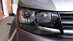 VW Volkswagen Transporter T6 headlights headlamps pair