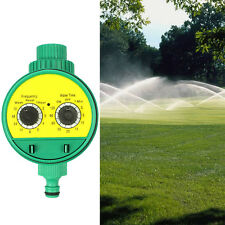 Two Dials Automatic Electronic Water Timer Garden Watering Irrigation Controller