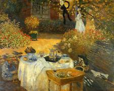 Canvas Floral Art Prints Claude Monet