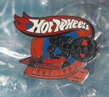 30 Years Hot Wheels 1968 - 1998 Commemorative Metal Pin Car Racing
